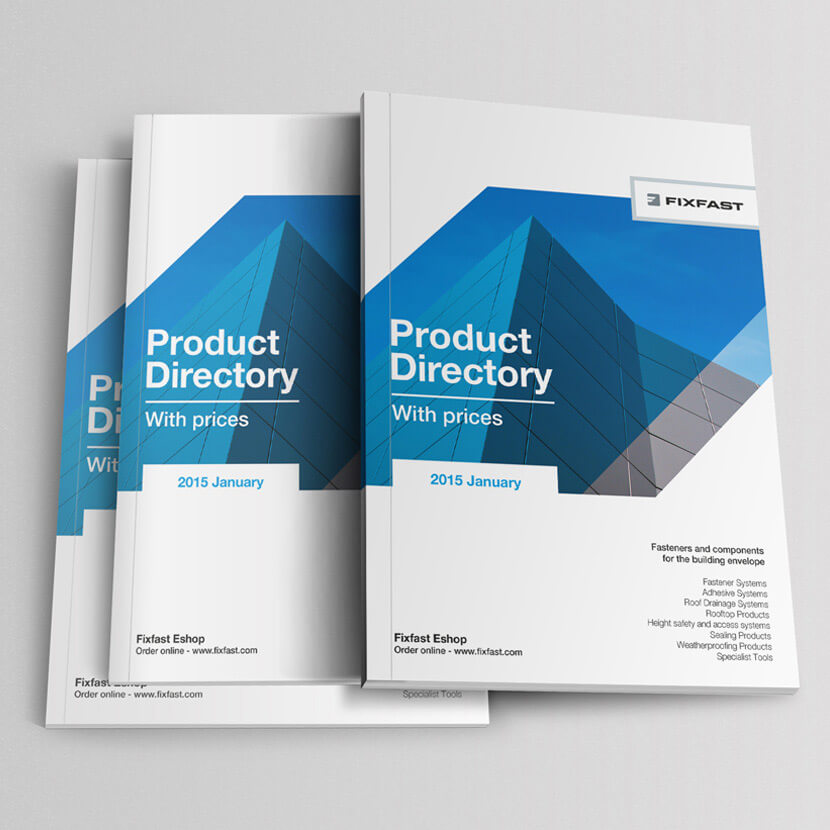 Fixfast Product Catalogue Design